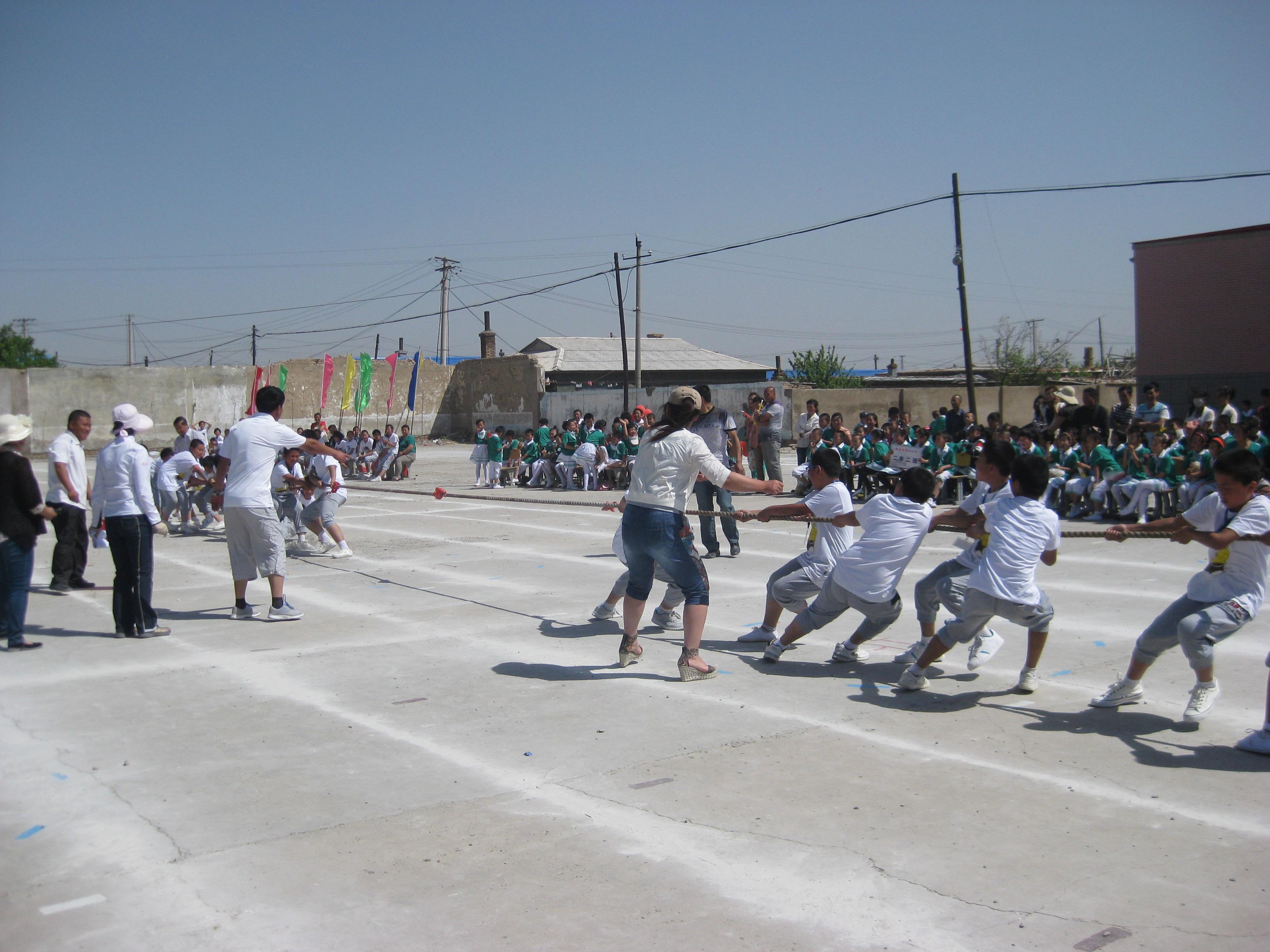 吉林省松原市乾安县第六小学庆六一趣味运动会图片