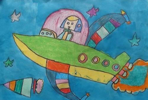 小学生绘画 比赛维也纳花园杯获奖作品选登