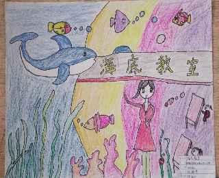 的中国梦 畅想未来 绘画