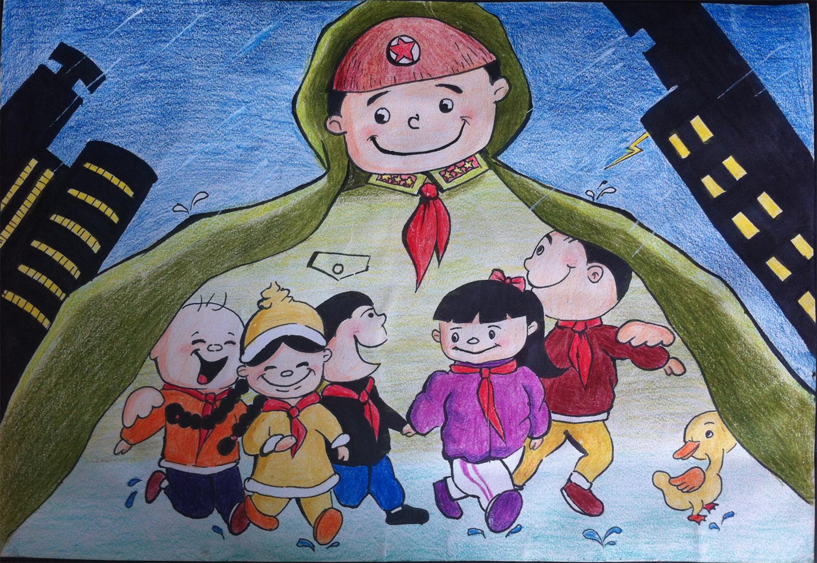 中国梦延安情_五年级中国梦手抄报版面设计图大全1_五年级