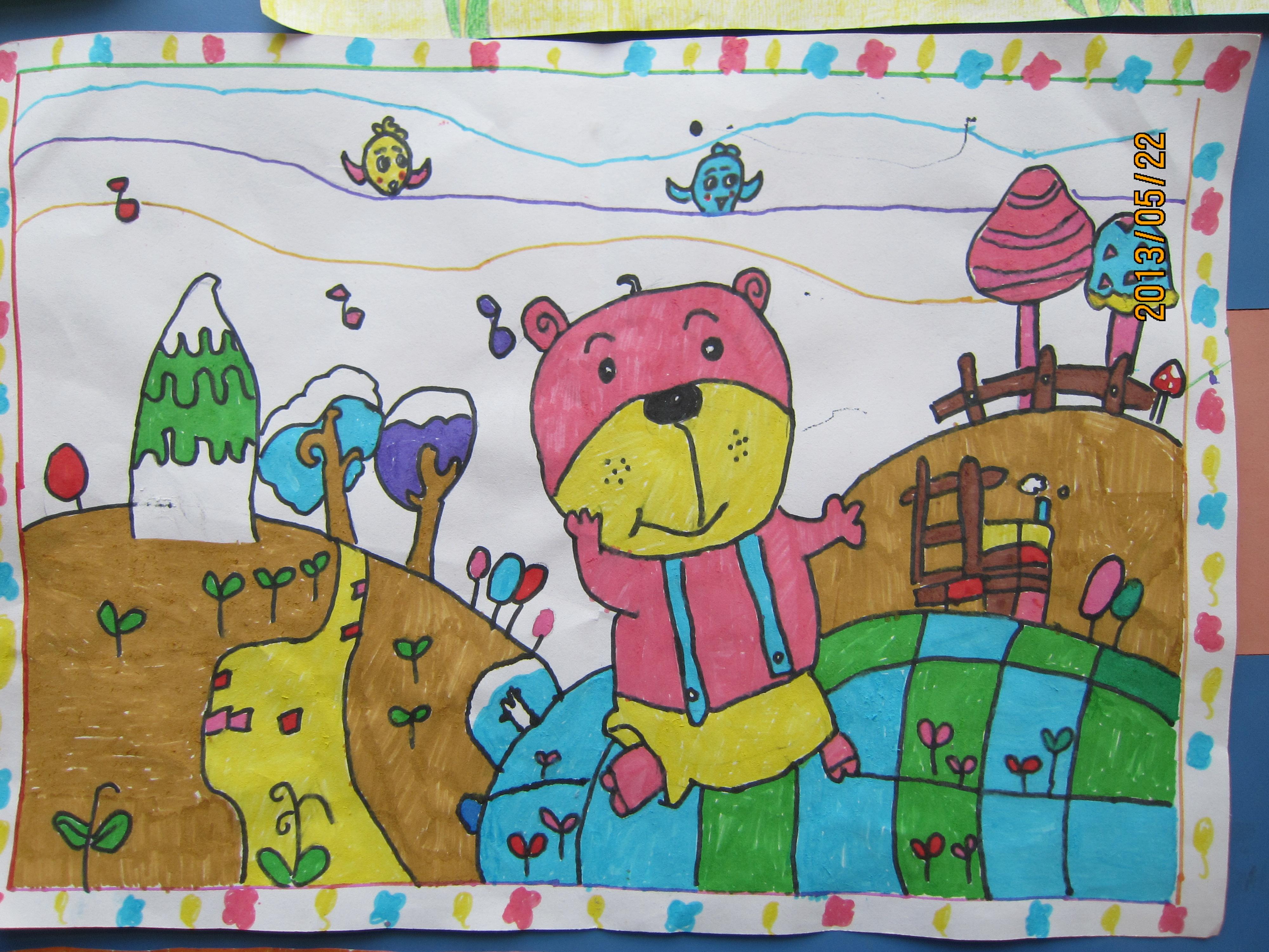 儿童画 - 红领巾相约中国梦动态上传 - 活动 - 未来网图片