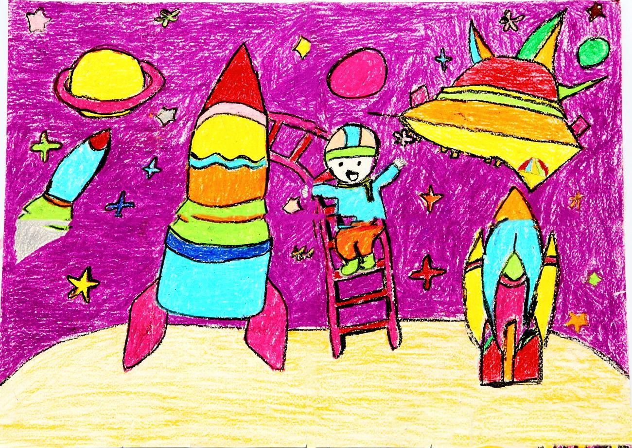 我的梦想-宇航员