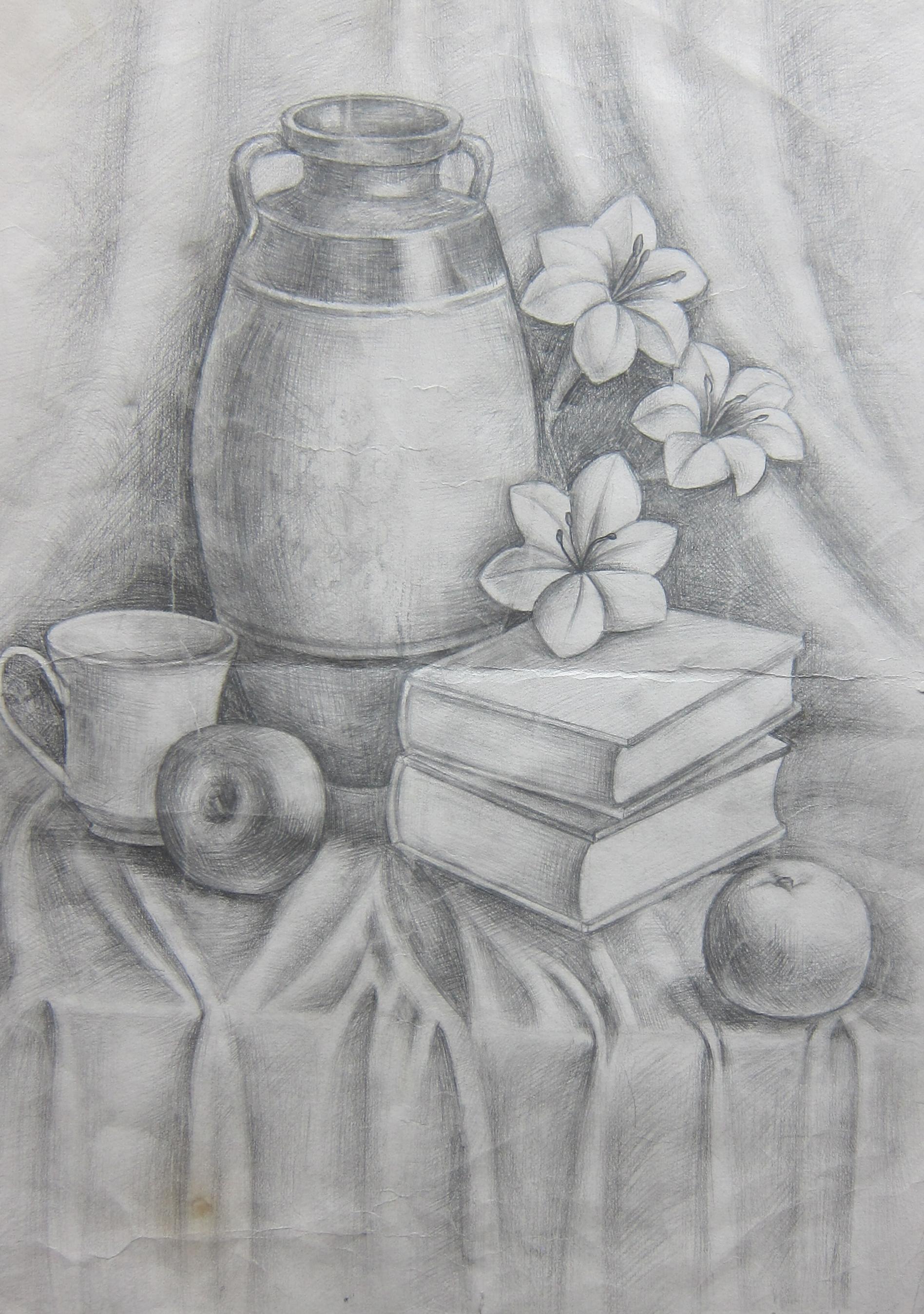 铅笔画-梁涛
