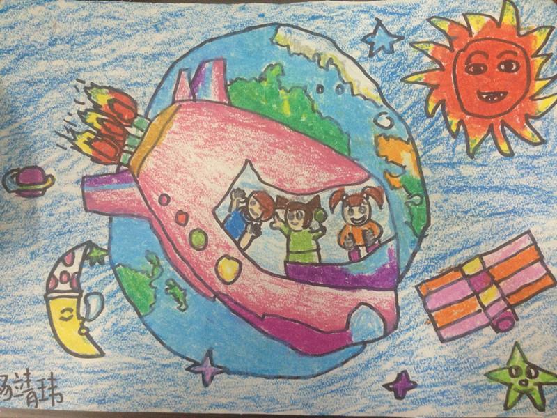 6年级未来科技画图片小学生未来科技画未来科技