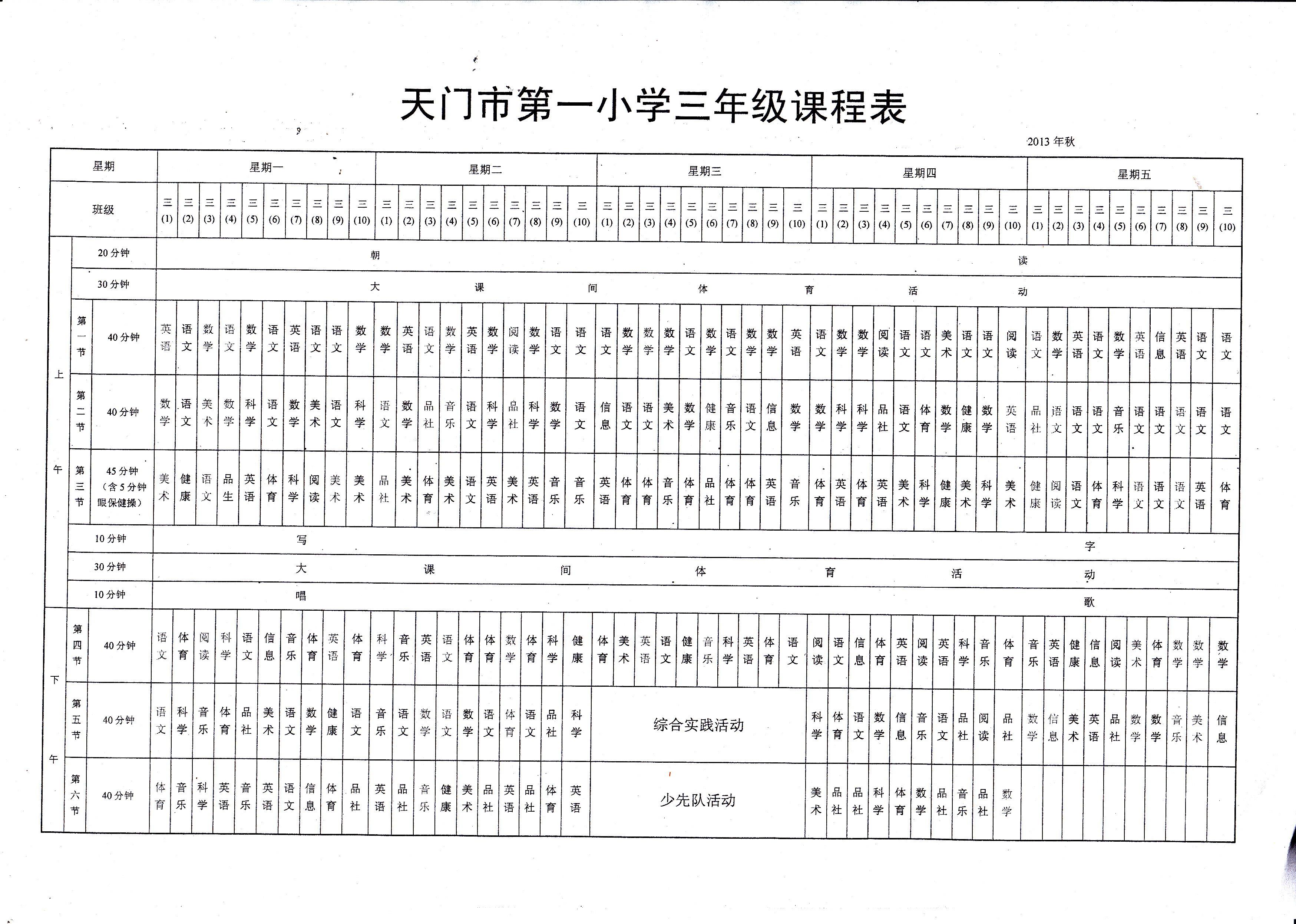 小学简单电路图