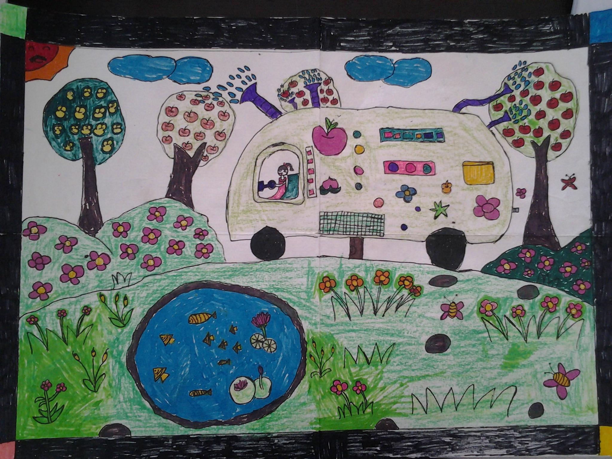 儿童科幻画怎样画_易发生活网