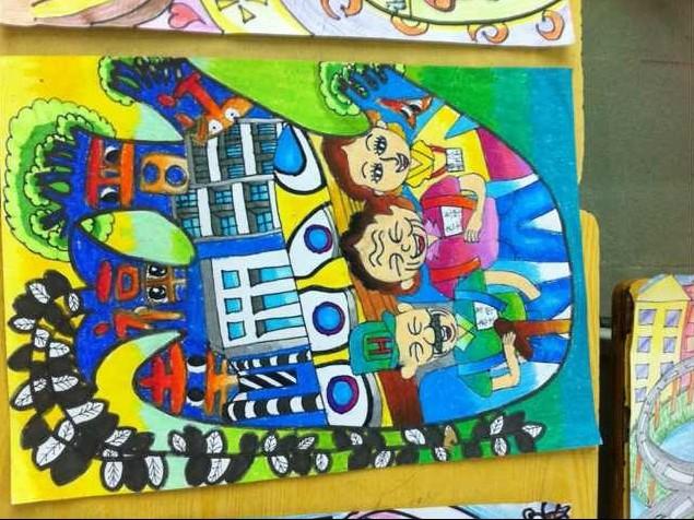 我的中国梦绘画比赛作品图片