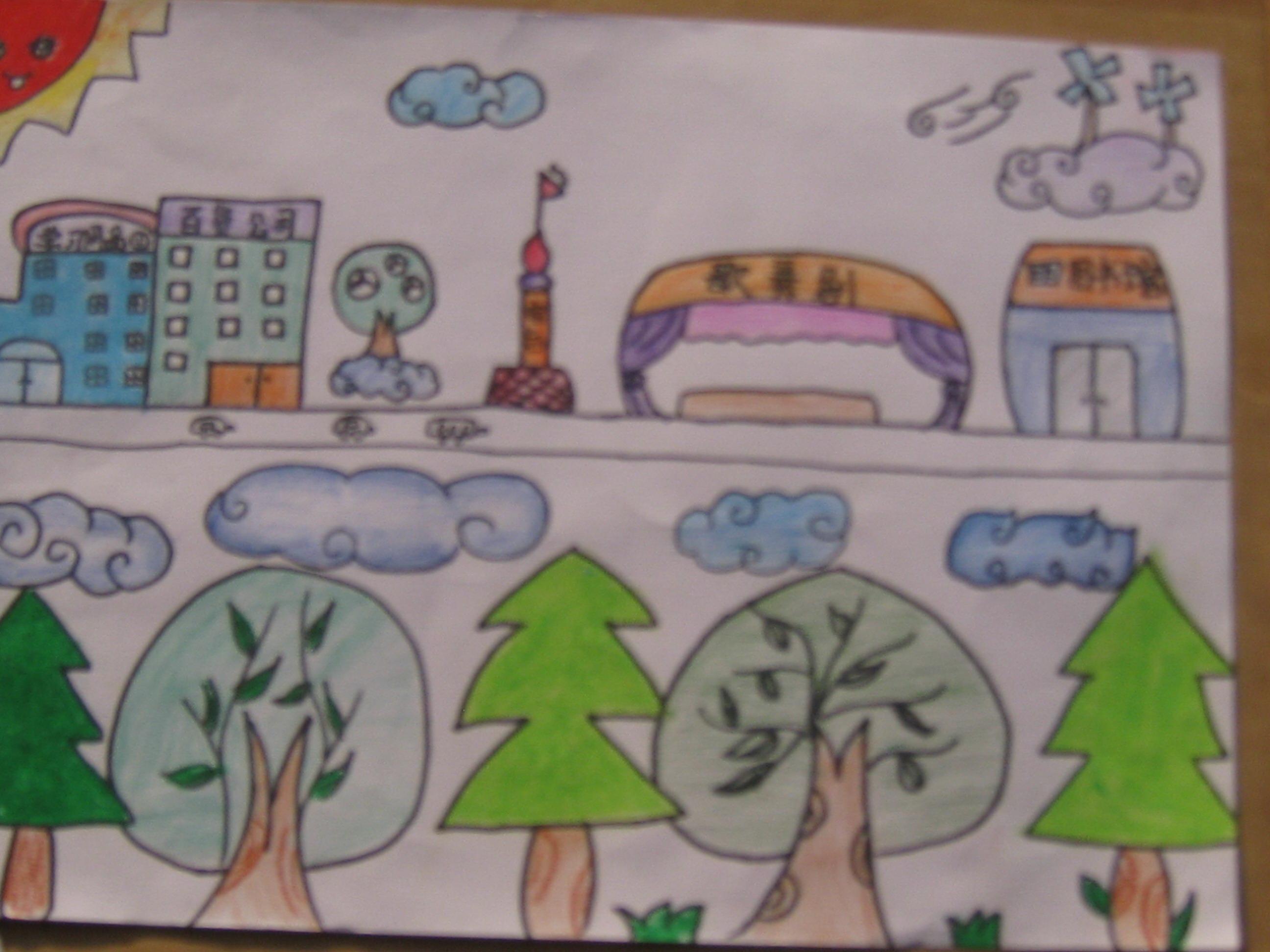 过年儿童画,美丽公主画画图片大全,获奖美丽幼儿简笔画