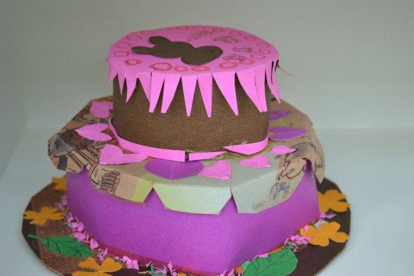 手工圆锥形帽子