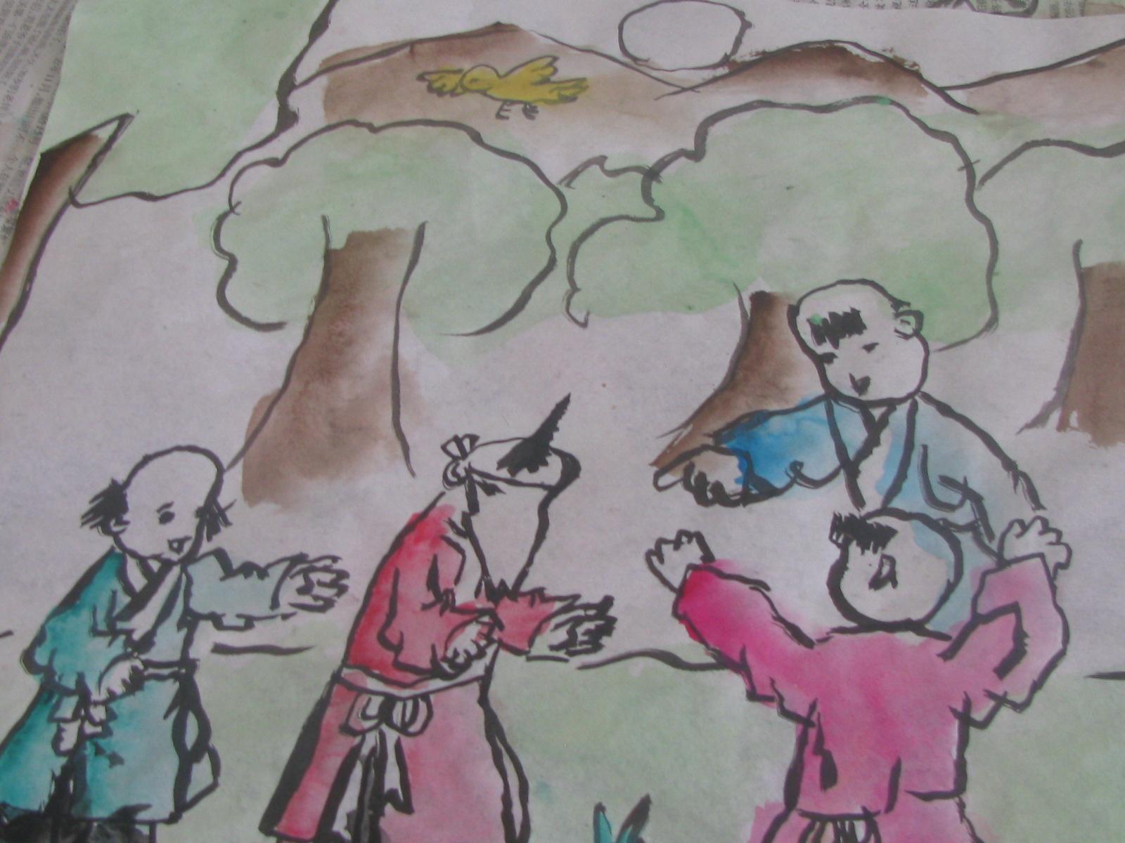 惠济区南王村小学三年级课程表图片