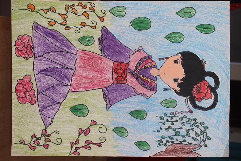 中国梦主题画一等奖-中国梦主题儿童绘画集锦