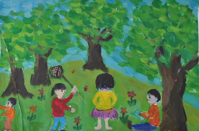 我的中国梦绘画作品