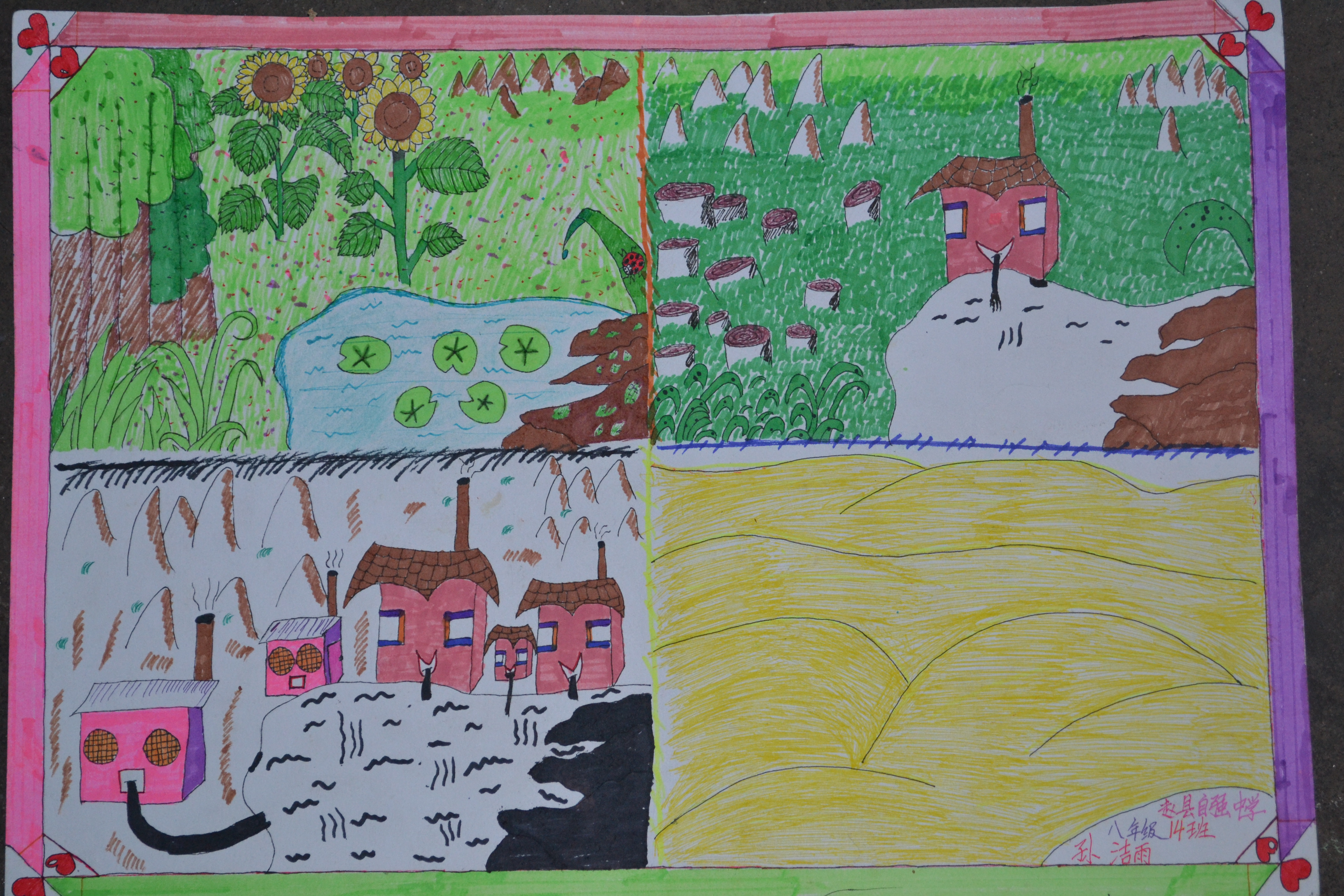《保护环境爱我家园》活动课教案图片