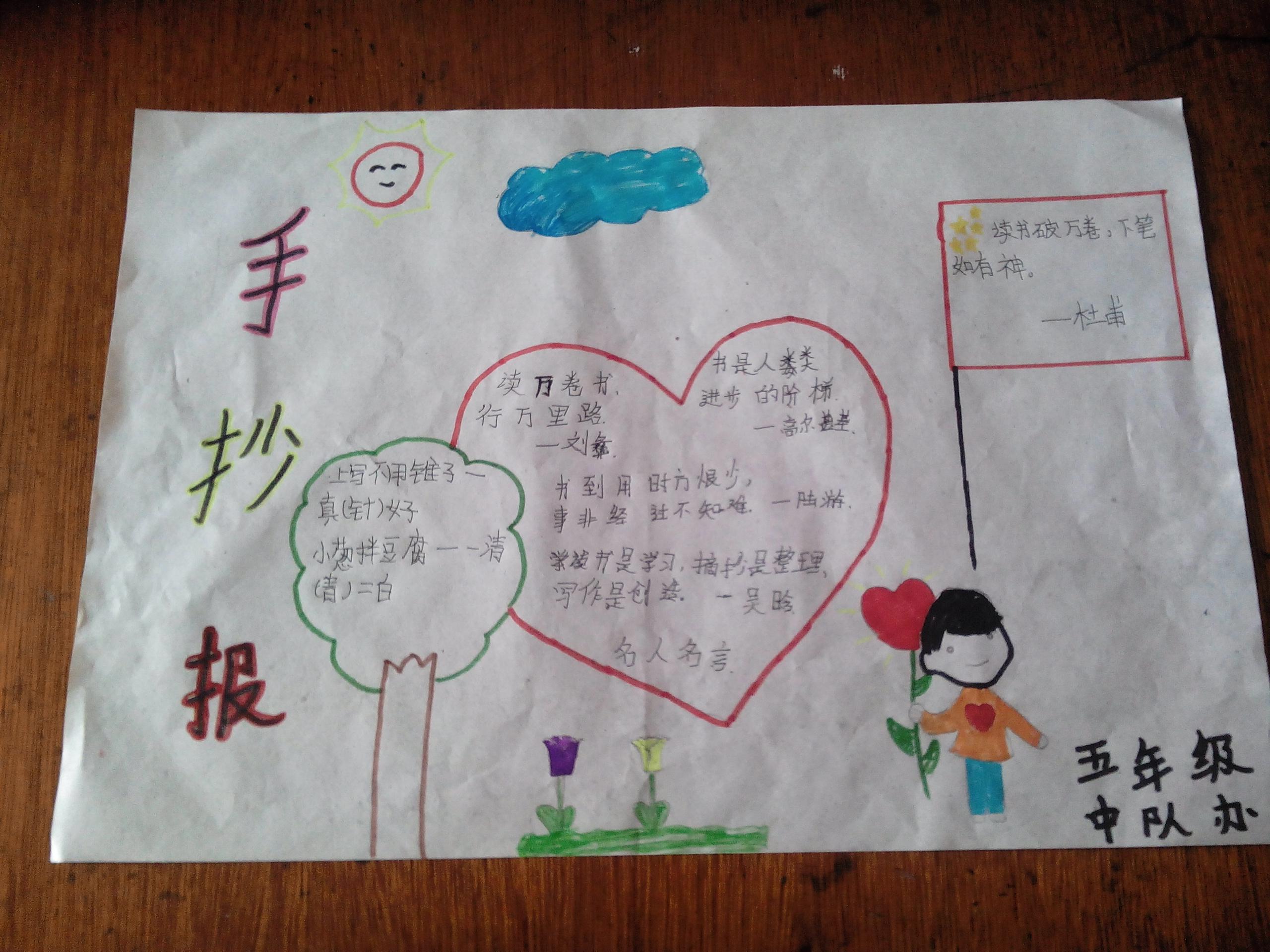 手抄报 - 课表上传 - 活动 - 未来网红领巾集结号