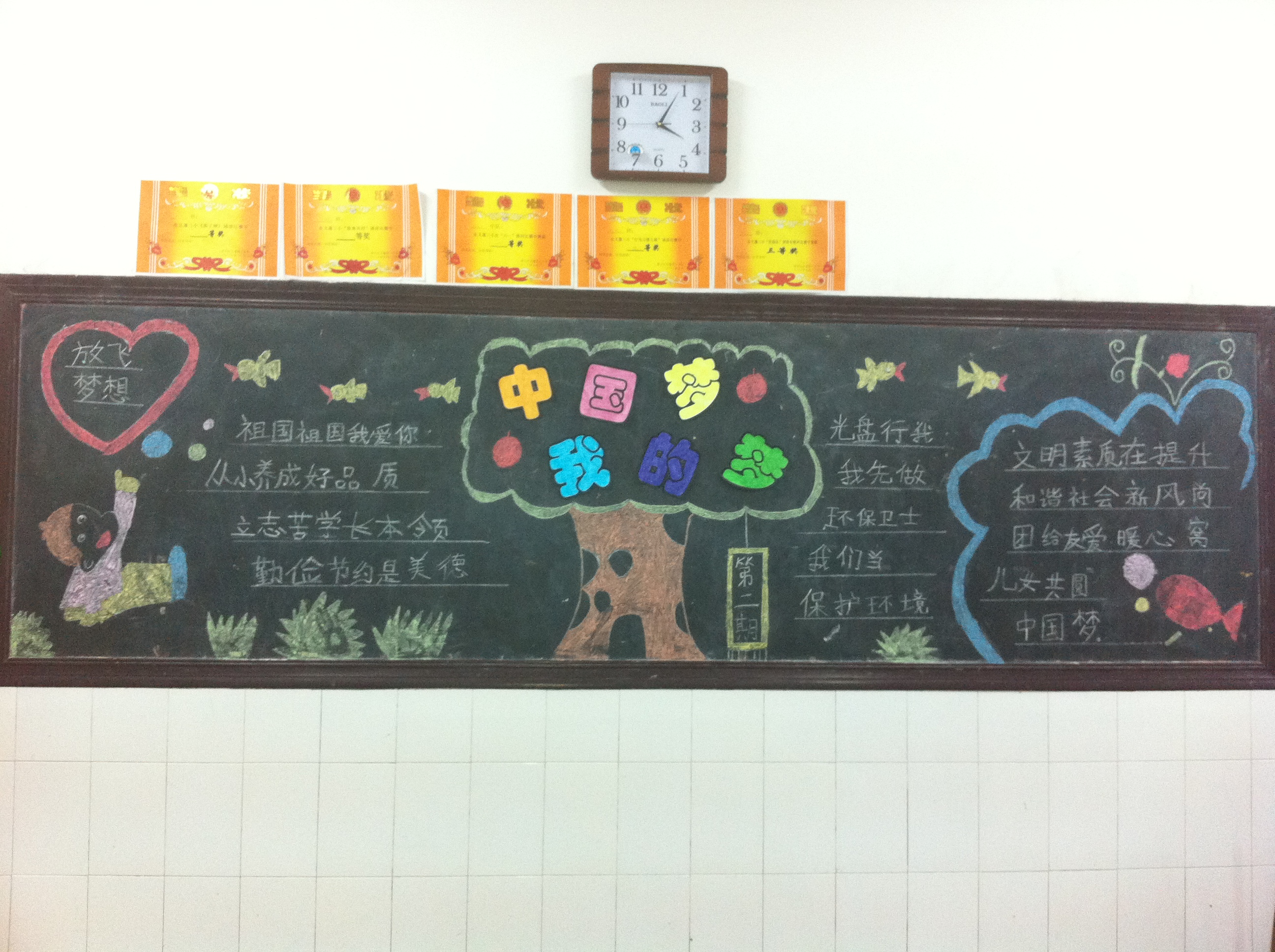 """""""中国梦""""黑板报活动"""