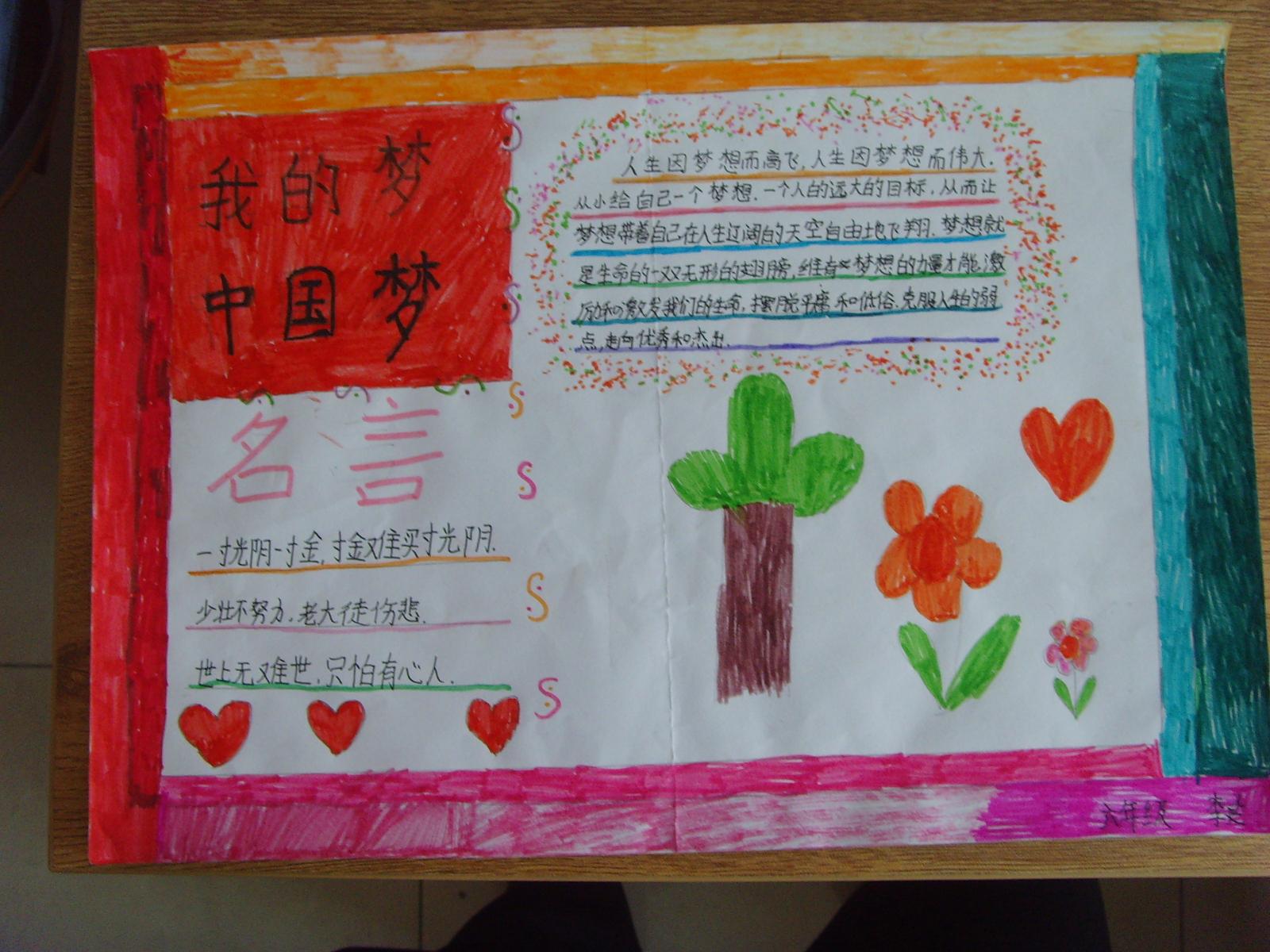 中国梦手抄报 - 红领巾相约中国梦动态上传