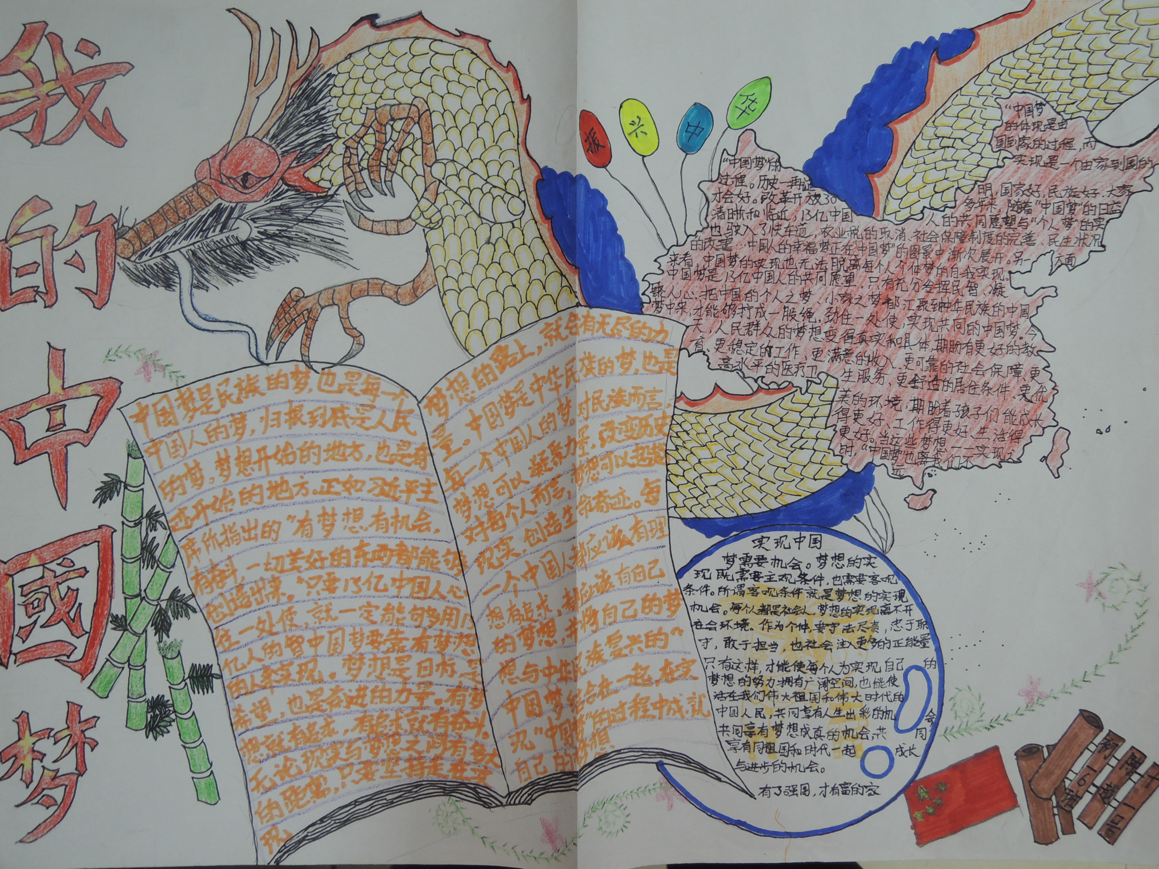 中国梦手抄报 教案设计上传 活动 未来网红领巾集结号