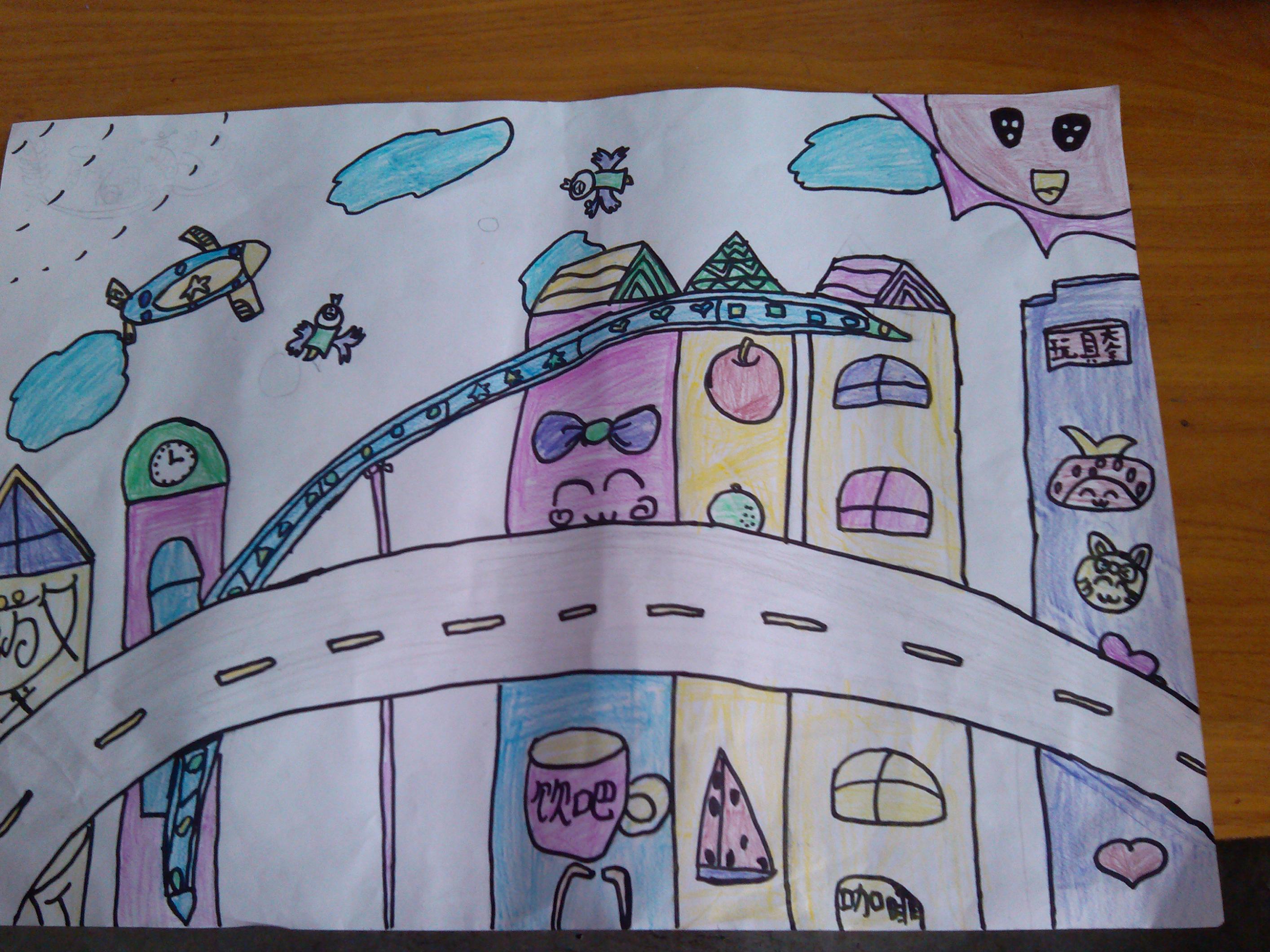 丹青少年绘画决赛作品 - 红领巾相约中国梦动态上传图片