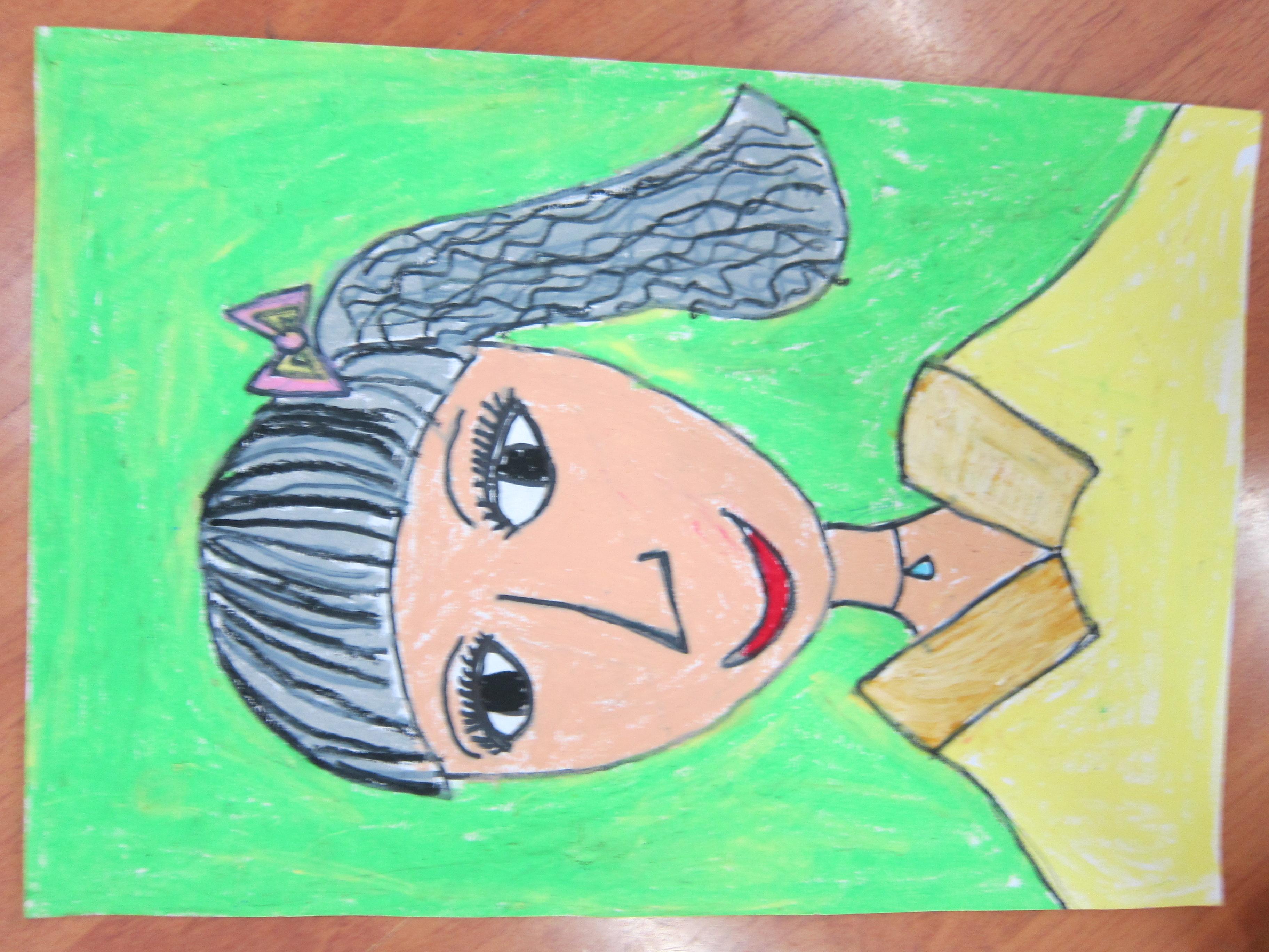 教师节画身边的老师图片