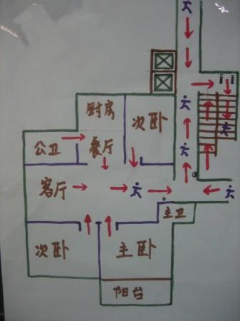 疏散平面图怎么画简单
