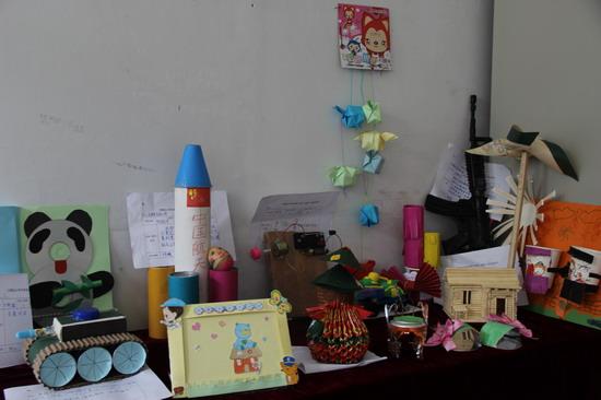 组织小学生小发明,小制作