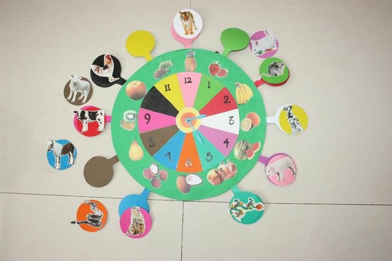 自制钟表教具制作步骤