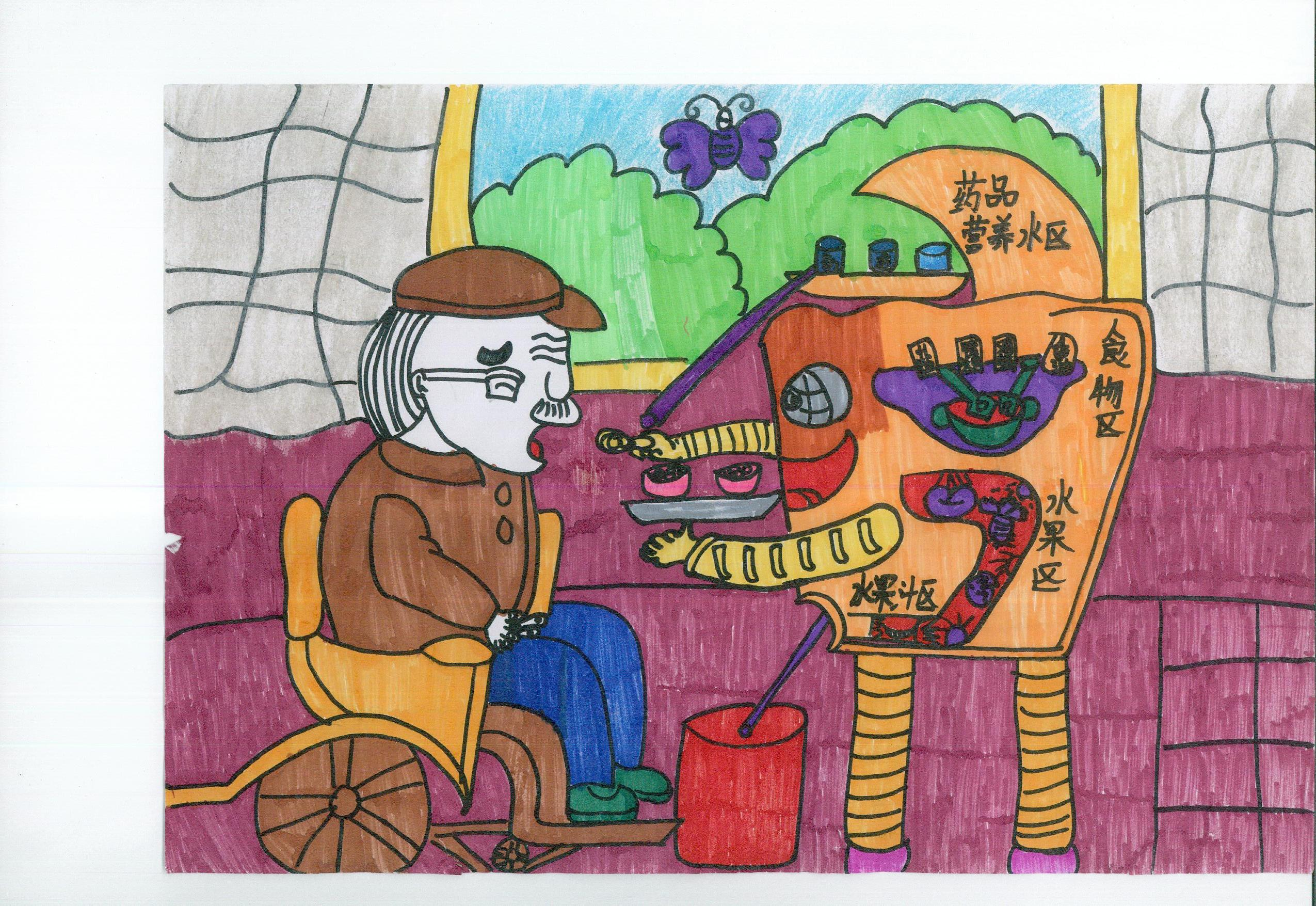 1  1 大图浏览 分享到: 红柳沟镇学区科技绘画《为孤独老人服务的机器