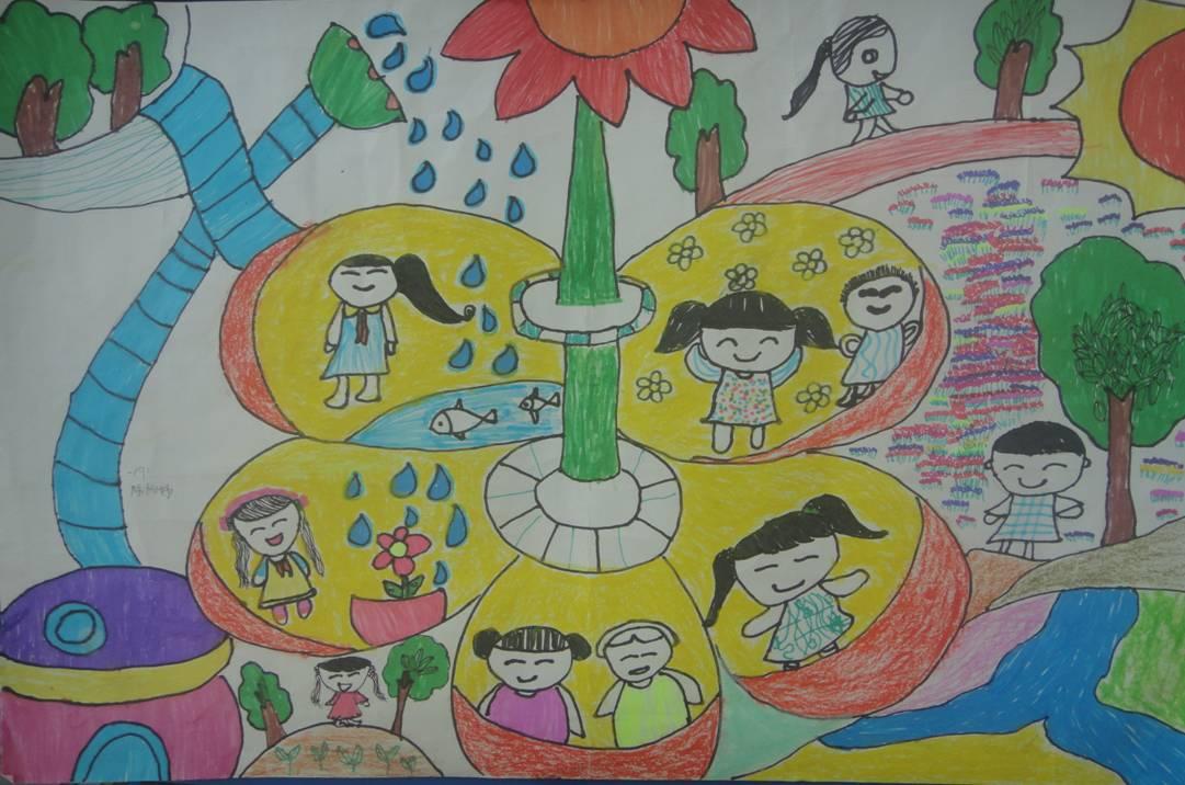 节约用水,保护环境--仪征市实验小学开展节水主题绘画评选活动 - 动态图片