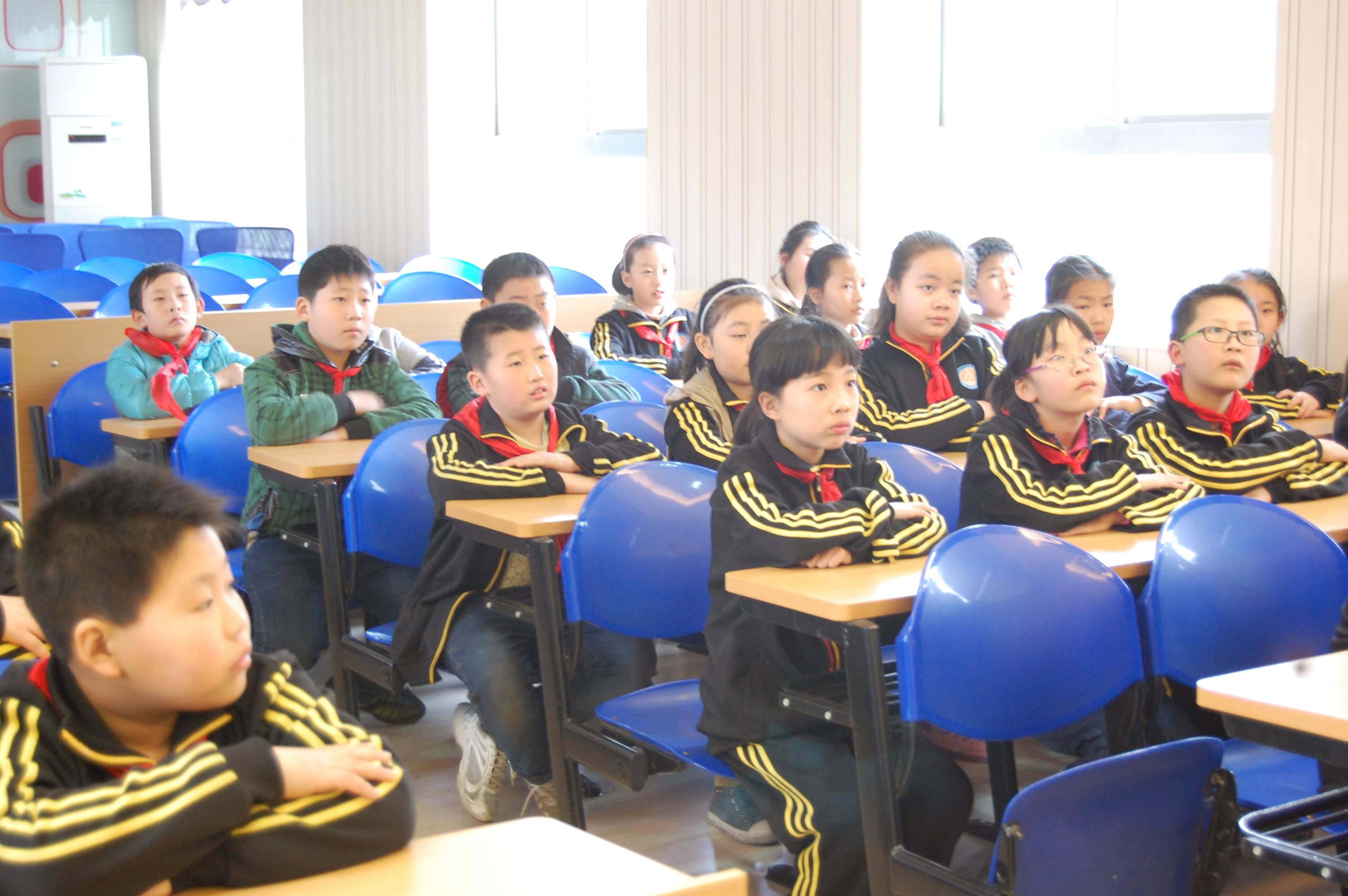 西安市小学路小学红领巾大讲堂宣讲-美丽中国v小学长缨结业图片