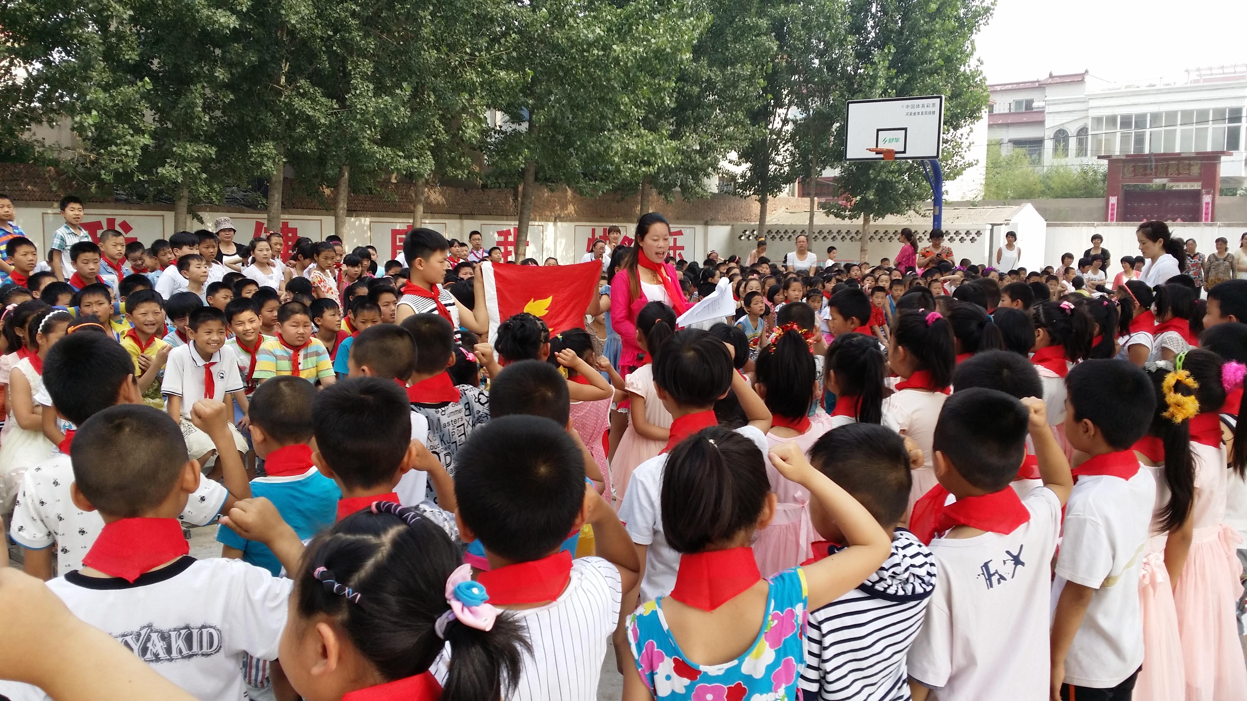 开封县祥符第三小学载歌载舞庆六一少先队新小学生第二课堂图片