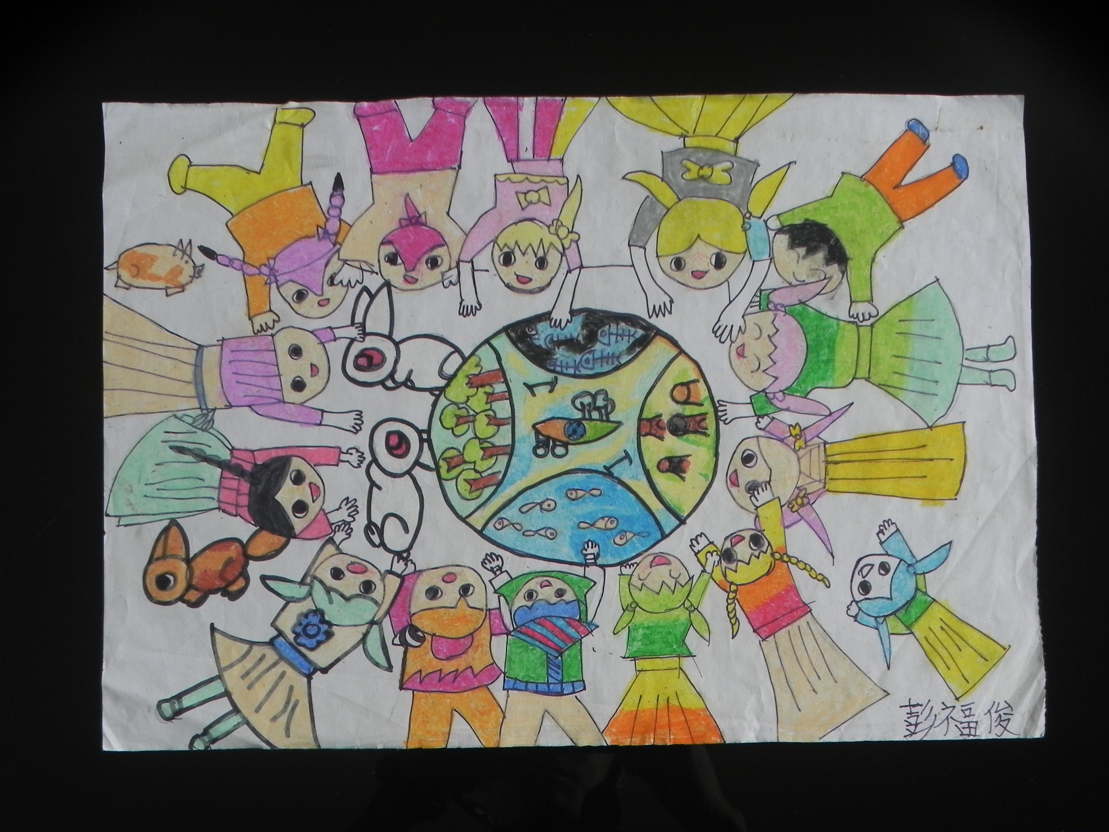 六一儿童节学生美术作品展2