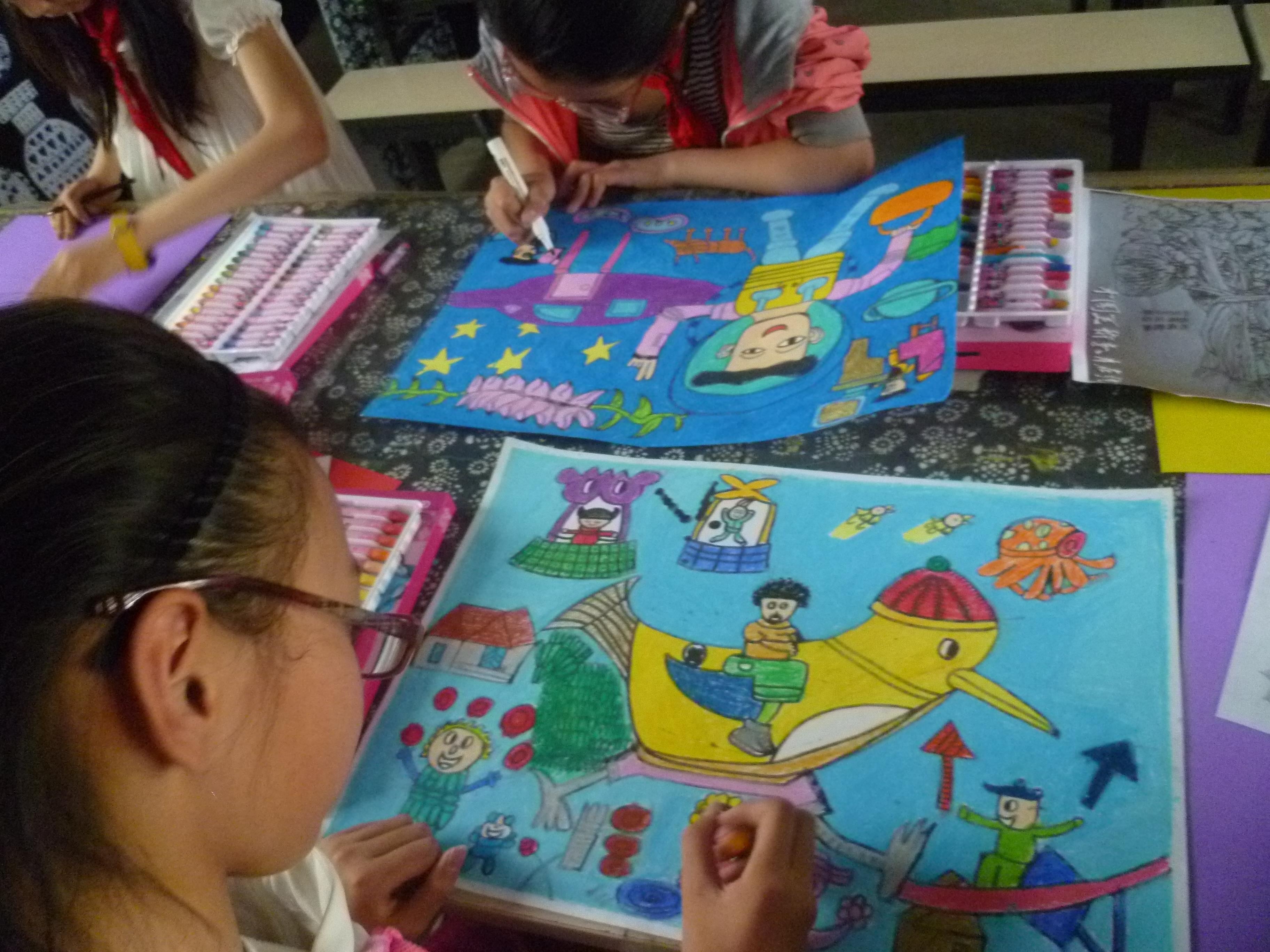2017年儿童绘画比赛图片
