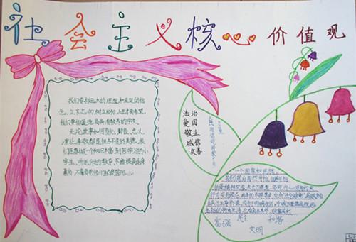 三爱三节漂亮手抄报图片
