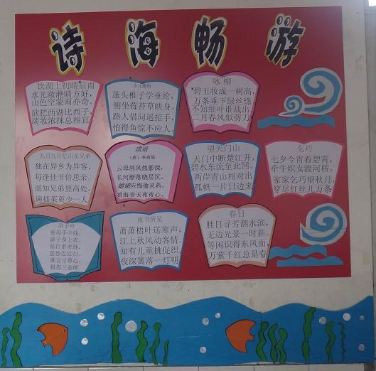 让文化阅读展风采小学--班级班级新生模板建小学生说话成果展示墙壁图片