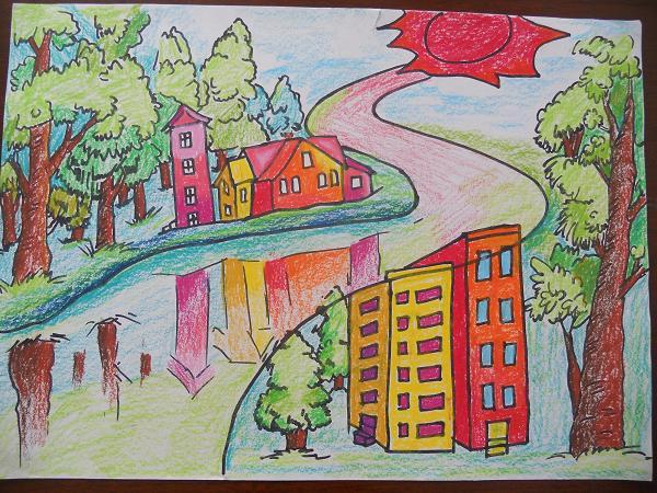 【小学生环保绘画_小学生环保绘画图片_小学生环保图片