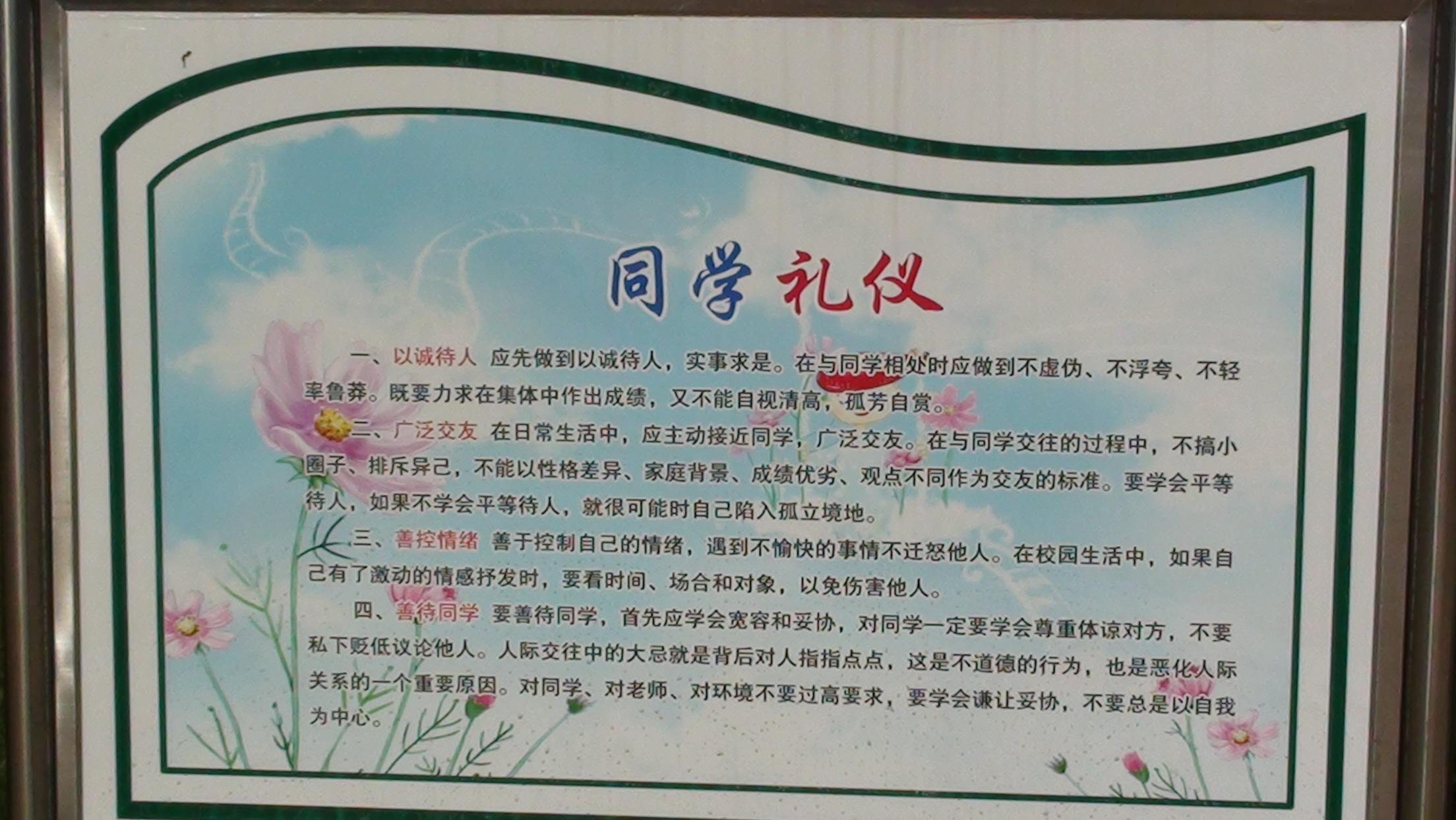 文明礼仪教育 - 红领巾相约中国梦动态上传 - 活动