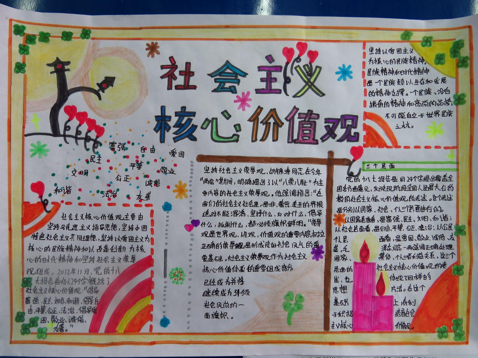 """核心价值观手抄报 - 2014各地""""六一""""精彩活动汇总"""