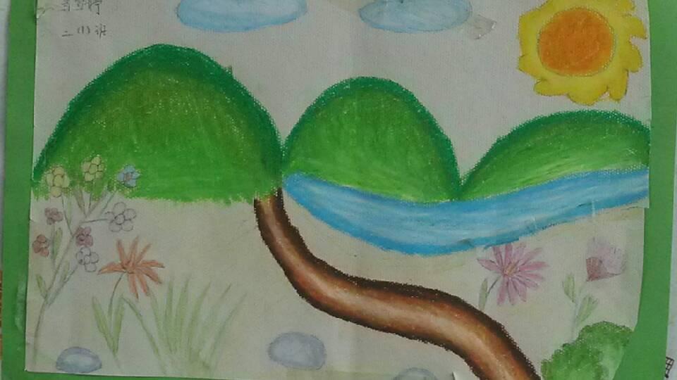 分享到: 这是就是我生活的地方,青青的山,绿绿的水,是那么可爱,那么迷