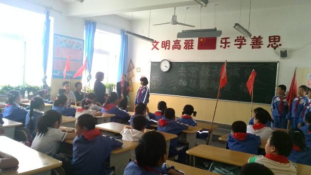 新疆轮台县第二小学举行抵御宗教 去极端化--