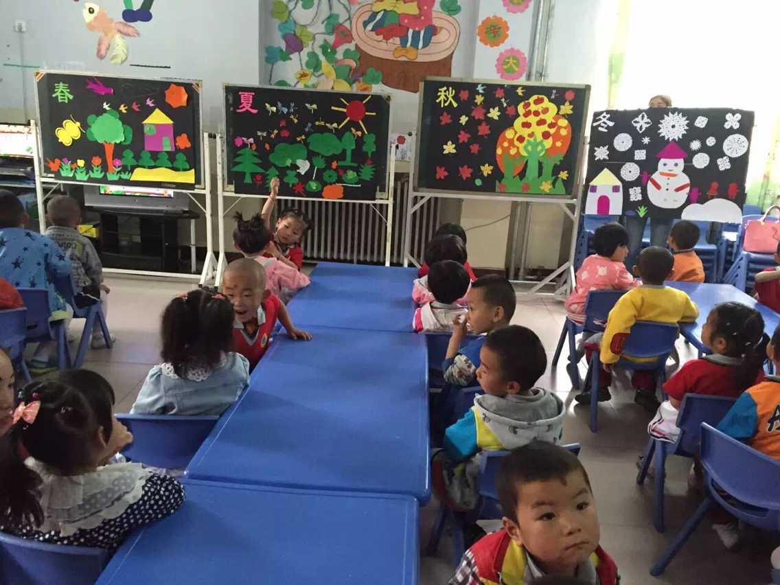 高台县光彩幼儿开展亲子手工制作活动