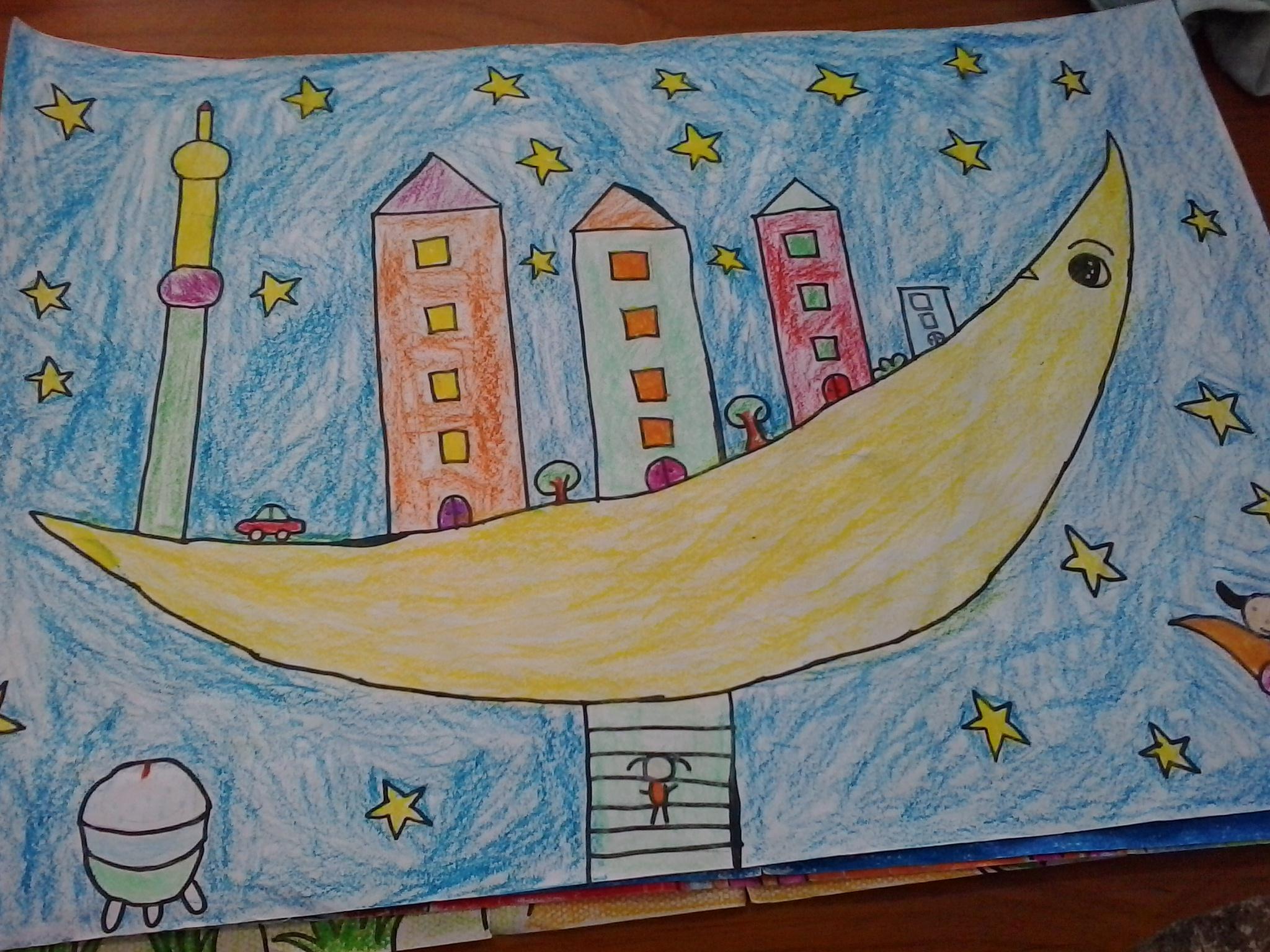 科学幻想画 - 2014年少年儿童媒介素养教育活动-儿童绘本2014年07期图片