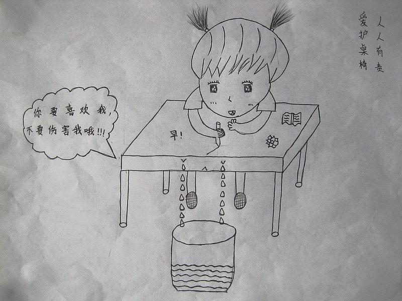 """常庄小学开展""""文明校园人人有责""""主题漫画比赛"""