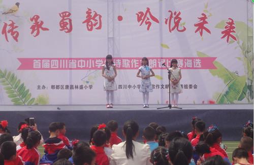 四川省成都市郫都区初中学生作文比赛朗诵唐昌哪好诗歌街间的厚图片