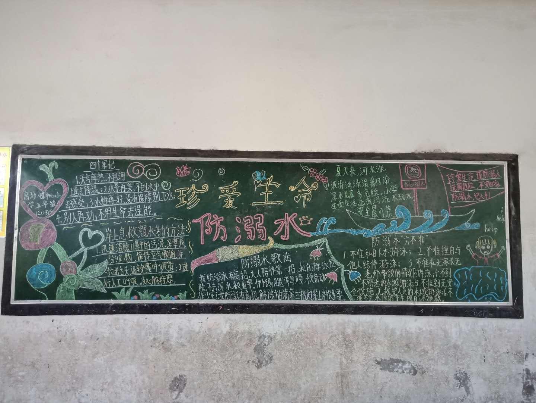 洞口县高沙镇中心数学溺水防开展黑板报v数学活小学注意事项小学图片