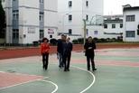 黄山市教育局领导到西溪南镇中心学校督导校园安全工作