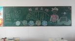 河南省油田第三小学二年级六班足球运动宣传黑板报