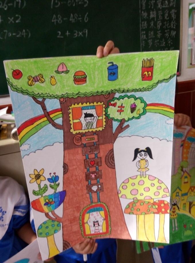 小画家 - 儿童节创意游戏设计 - 活动 - 未来网红领巾图片