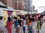 """,罗定市附城街中心小学庆祝""""六一"""" 游园活动。"""