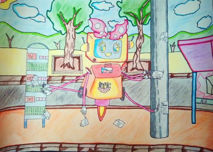 牛皮癣清理机器人图片