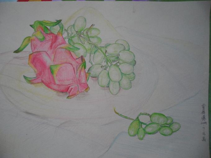 线描水果 曾祥源 高密